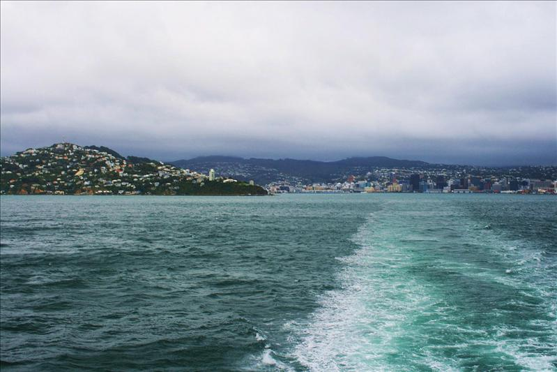Saying goodbye to Wellington.