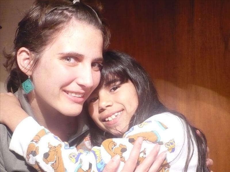 mit meiner Gastschwester Carolina (10)