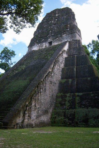 TIKAL, GUATEMALA - TEMPLE V