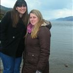 Lauren and I at Loch Ness