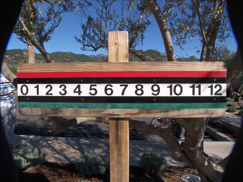 Bacci ball scoreboard