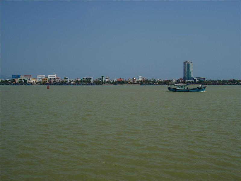 View of the river in Danang