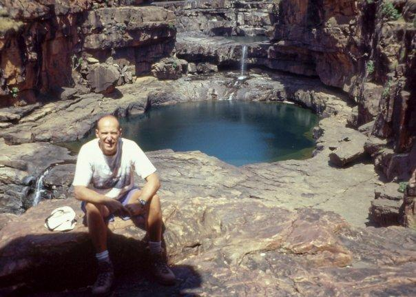 ROCK POOLS, THE KIMBERLEY, WA