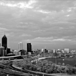 Perth in IR BW