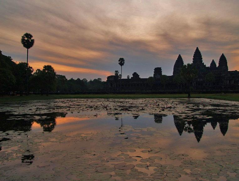 5.45 a.m at Angkor Wat
