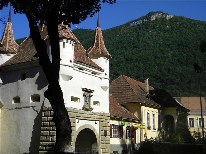 Ecaterina's Gate in Brasov