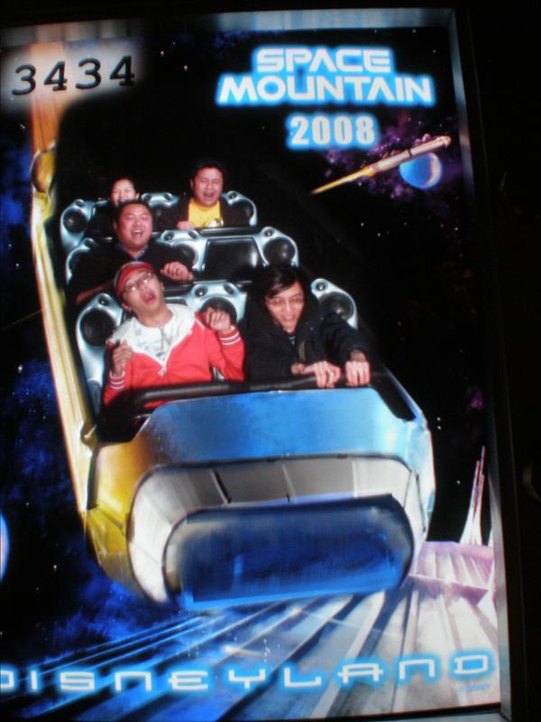 Reaction Shot - Space Mountain