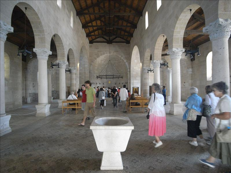 church of the multiplication of the loaves and fishes capernaum