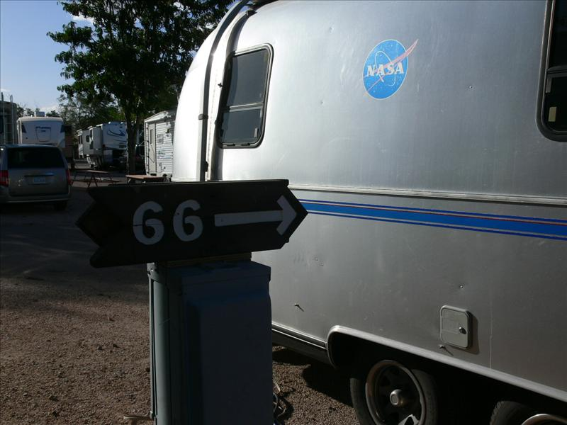space 66 on route 66