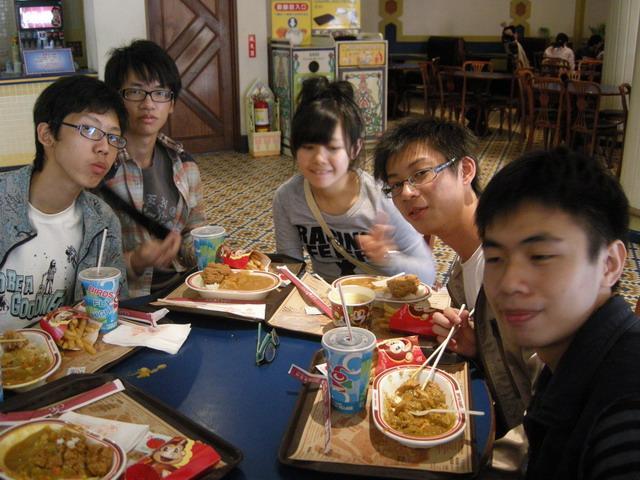 六福村 lunch.