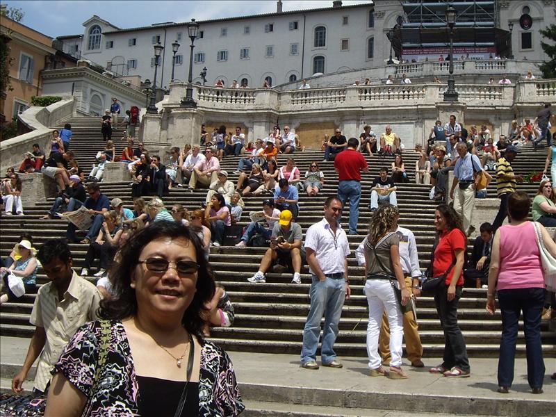Spanish steps,Rome