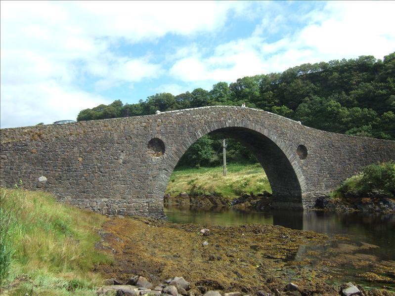 Clachan Bridge 'The Bridge over the Atlantic' to Seil Island