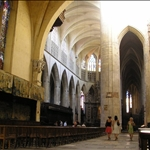 ..has the nave and the chancel out of line by about 2 metres!
