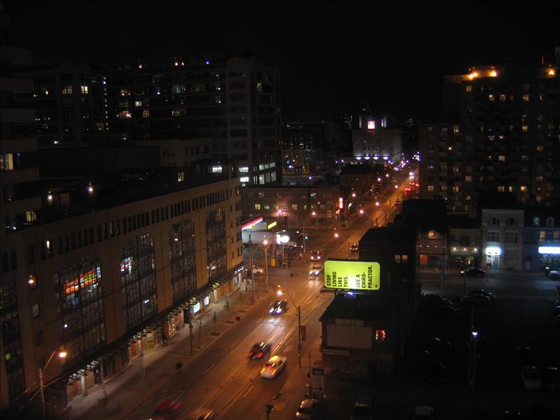 Toronto Night Scene - 08