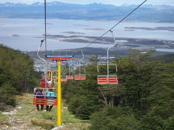 CHAIR LIFT, CERRO MARTIAL, USHUAIA, ARGENTINA