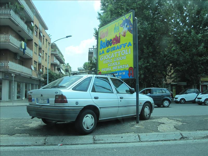 Parking - Italian style