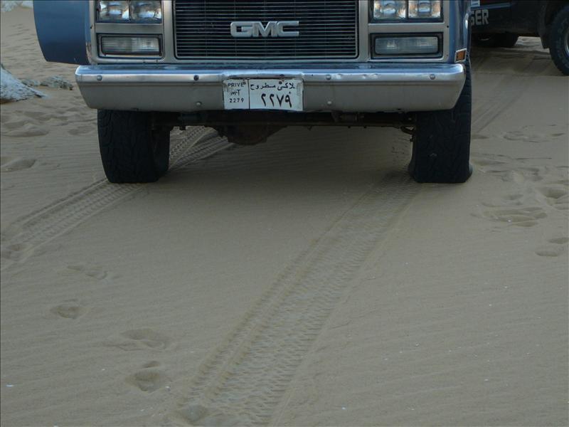 Siwa - Woestijn auto