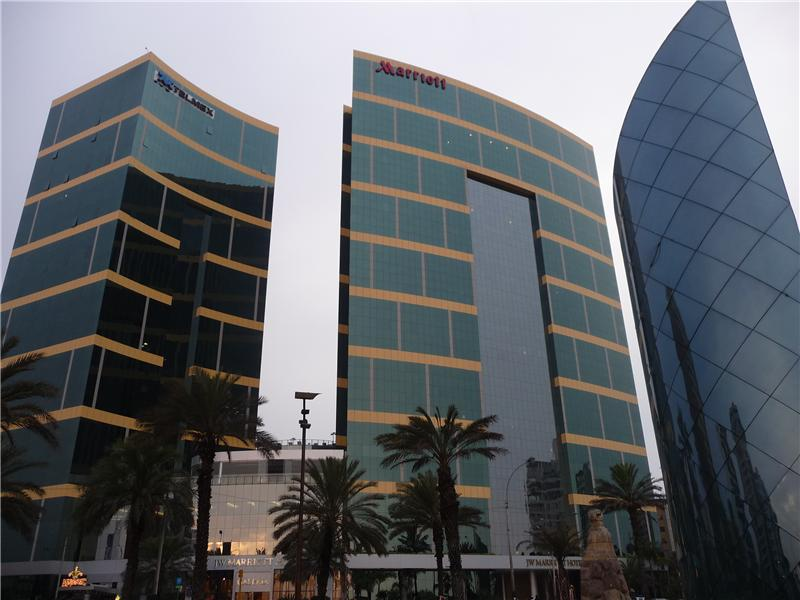 The Marriot hotel