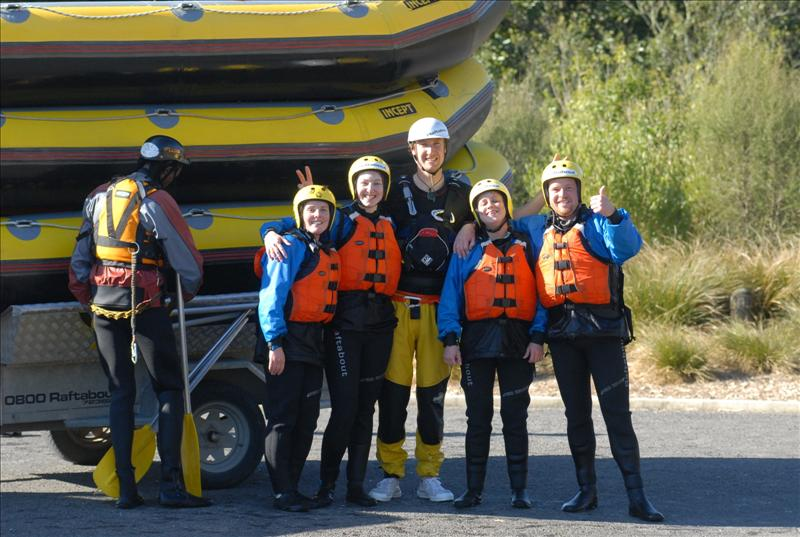 The rafting group