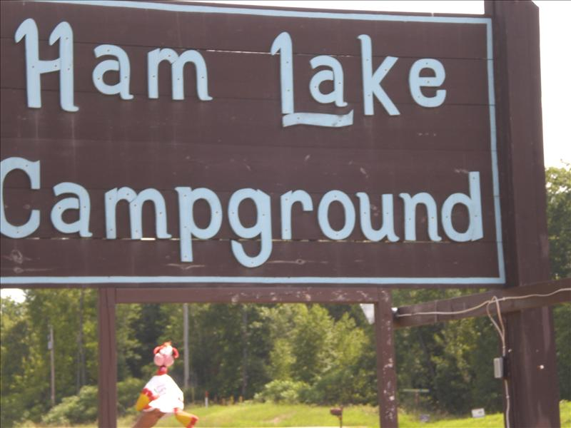 Ham Lake in Wisconsin