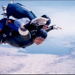 Sky diving in Las Vegas