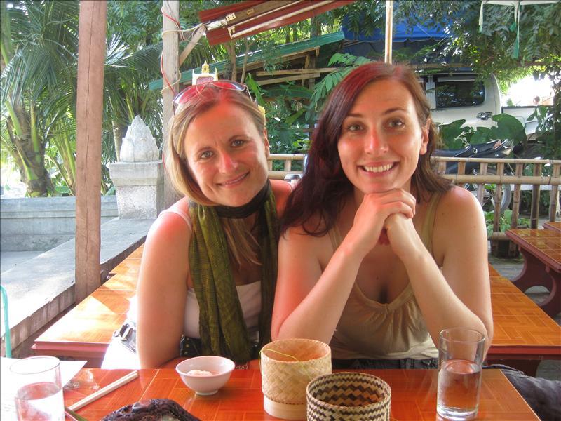 Sylvia and Grit enjoying Laos