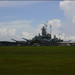 the USS Alabama, a WWII destroyer class ship