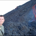 It was pretty hot on that volcano...