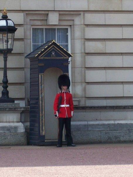 One of the guards.