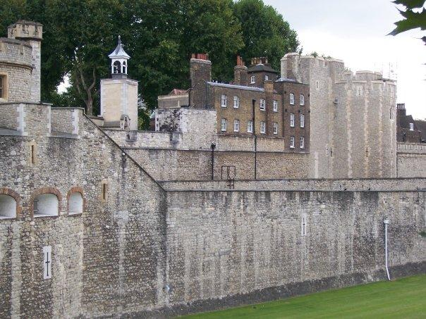 Part of the Tower of London.