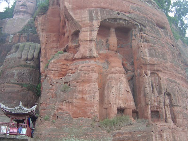 Largest stone-carved Buddha (Leshan)