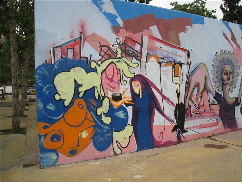 some cool graffiti
