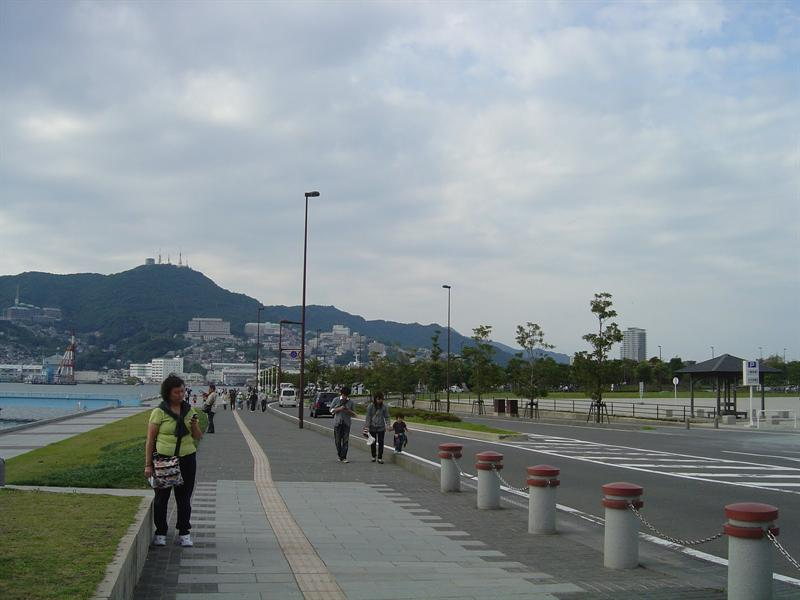 NAGASAKI sea-port and near-by area