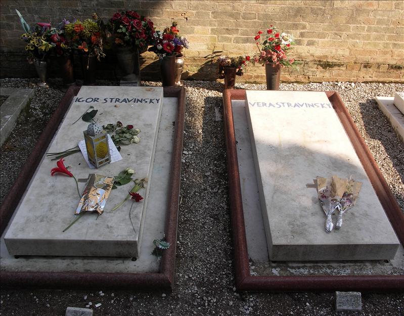 Igor and Vera Stravinsky