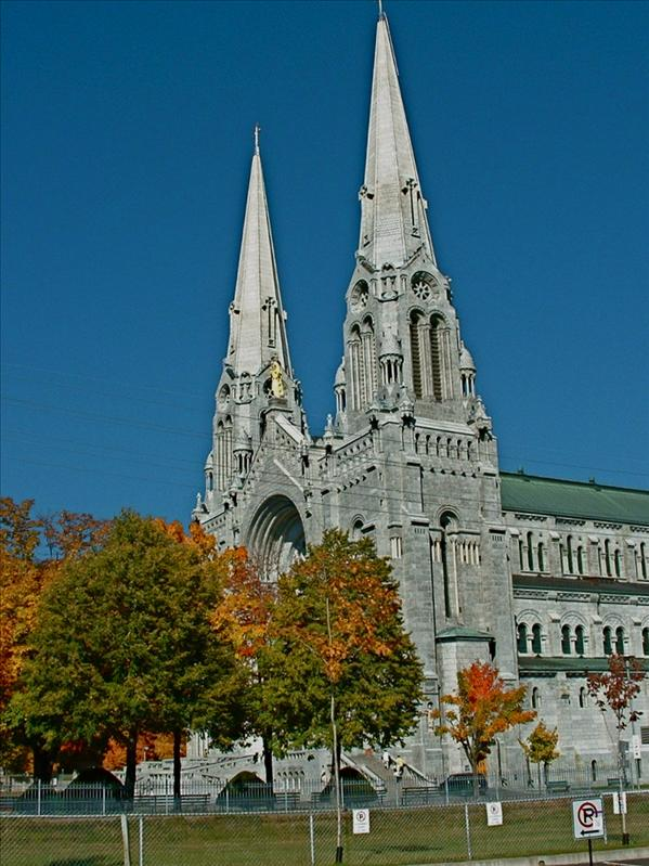 St. Anne De Beaupre,Church outside Quebec City