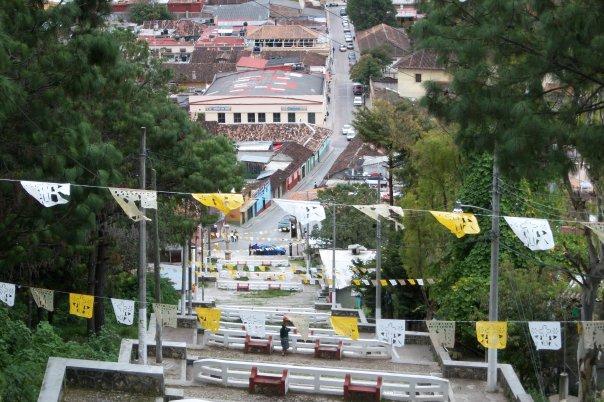 SAN CRISTOBAL DE LAS CASAS - VIEW FROM TEMPLO DEL CERRITO