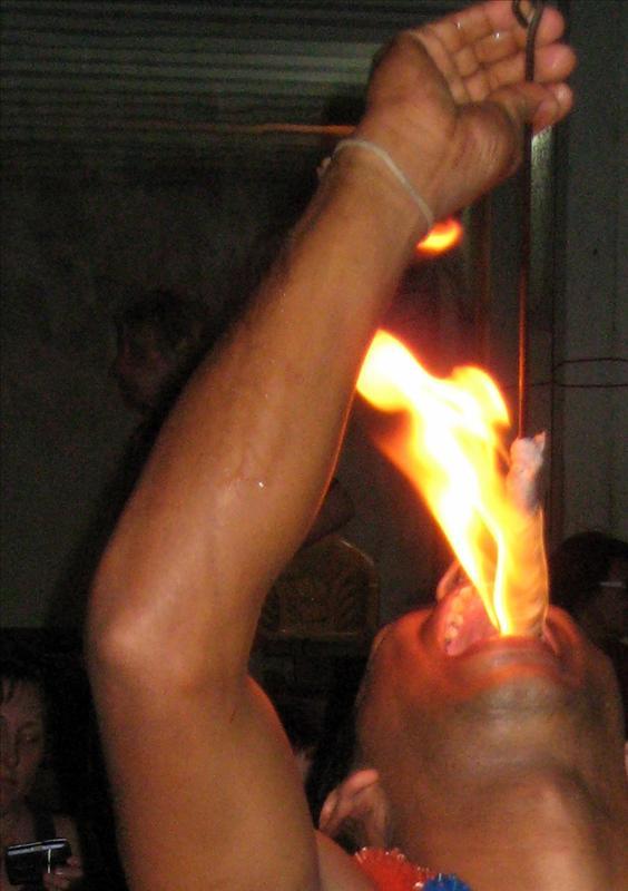 Kandian Fire Eater