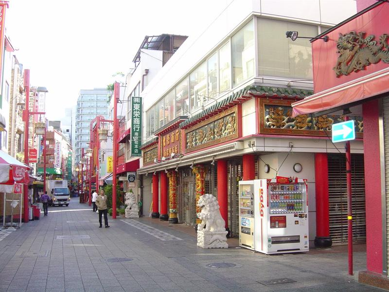 Nankinmaci (China Town) in Kobe.