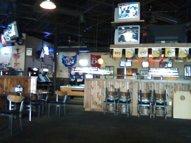 a pool table area of O'Aces