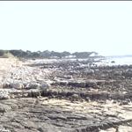 Lerins, beach