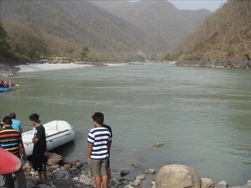 the holy river... Ganga