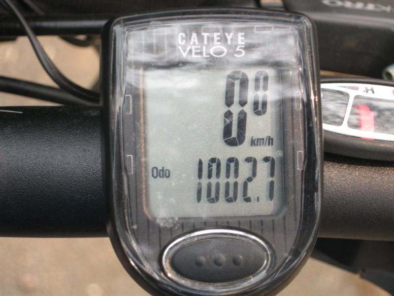 1000 km! yey!