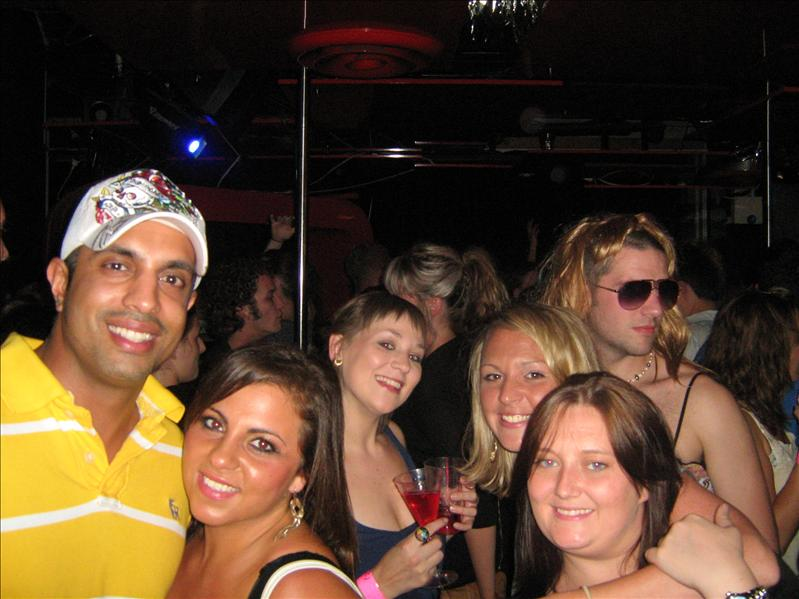 Me and the girls on Ladies Night