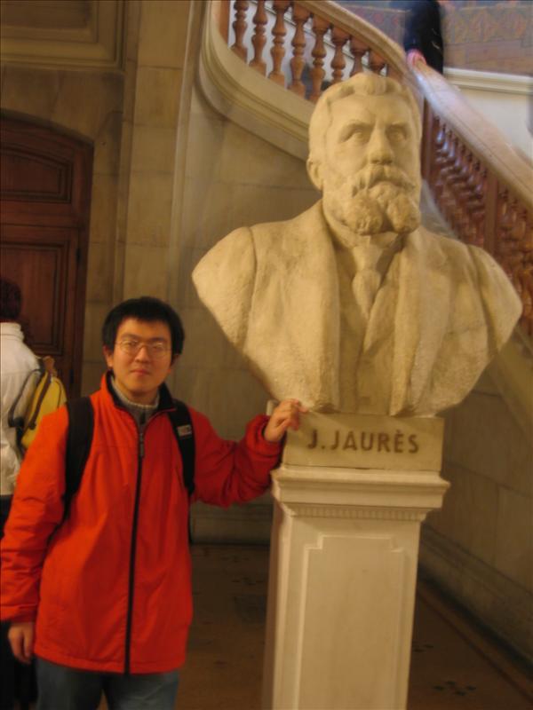 我和Jean Jaures