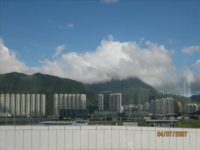 这是香港,转机的