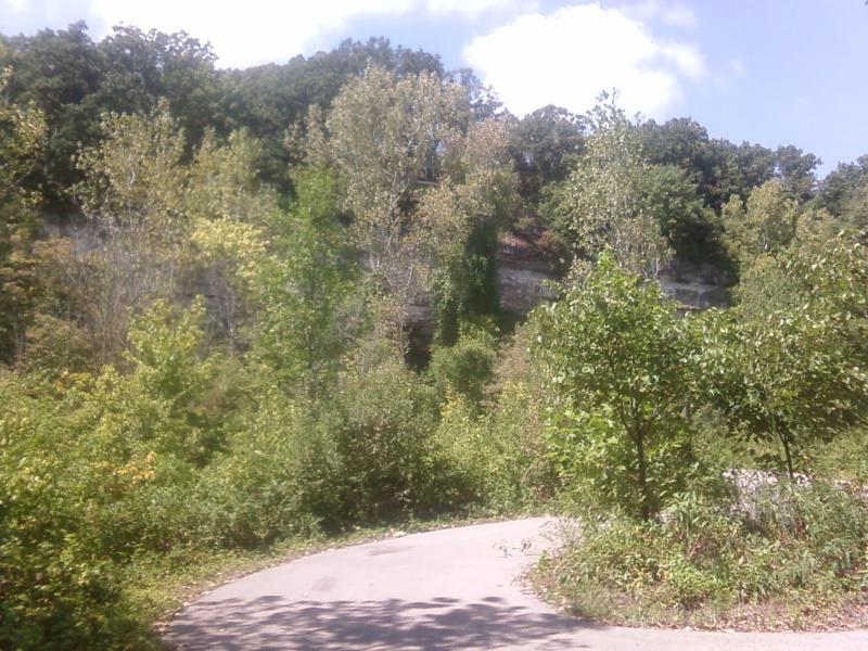 a walking trail