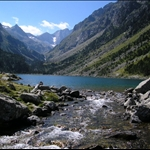 Lac de Gaube is on the way up to....