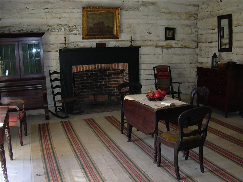 Inside Saint Louis's Grant's Cabin Civil War best bet (free admission)