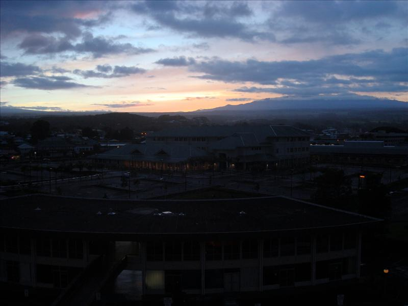 Hilo - Hawaiian sunset