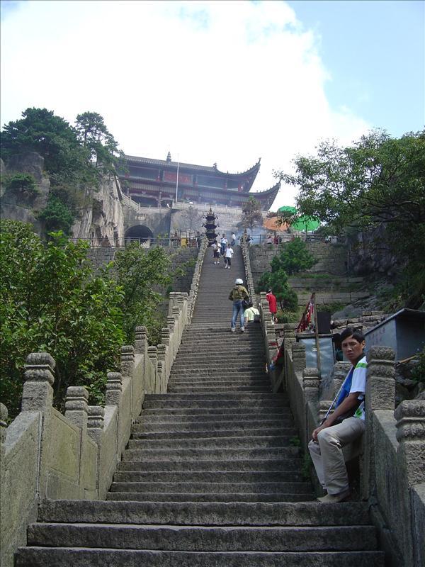 Tiantai Monastery in Mt. Jiu Hua